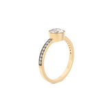 Cleopatra Diamond Ring. 18k Yellow Gold - MONARC CONCIERGE