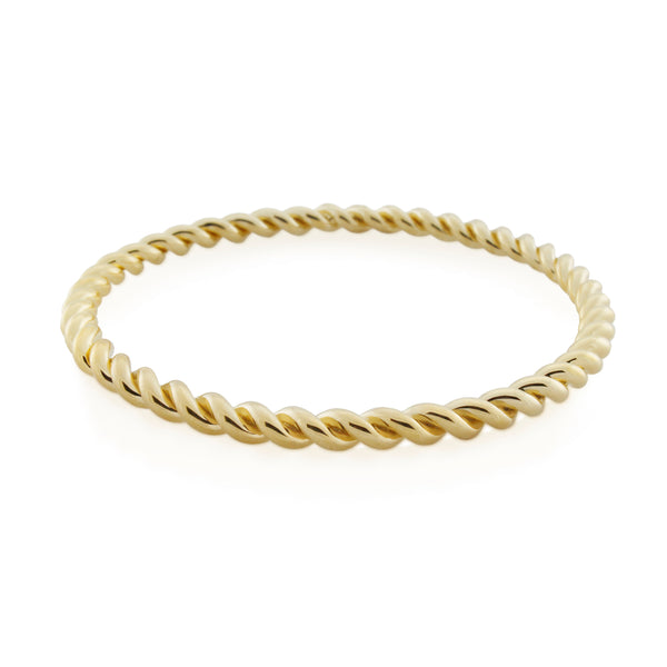 Corda Bangle. Gold Vermeil - MONARC CONCIERGE