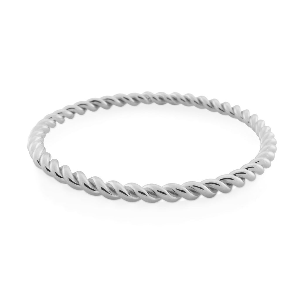 Corda Bangle. Sterling Silver - MONARC CONCIERGE
