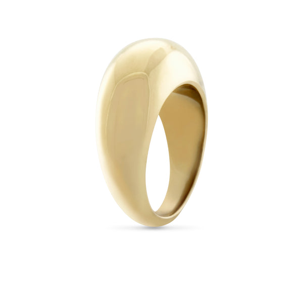 Courbure Ring. Gold Vermeil - MONARC CONCIERGE