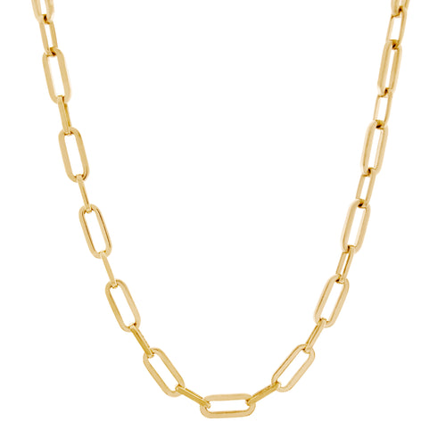 Suitor Chain Necklace. Gold Vermeil - MONARC CONCIERGE