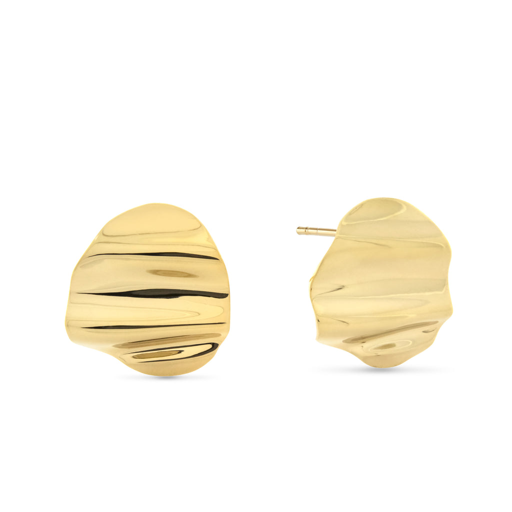 L'Eau Earrings. Gold Vermeil - MONARC CONCIERGE
