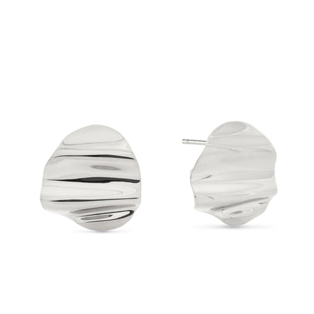 Courbure Hoop Earrings. Sterling Silver. PRE-ORDER