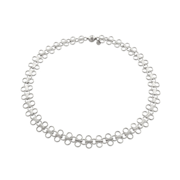 Lolita Choker Necklace, Sterling Silver - MONARC CONCIERGE
