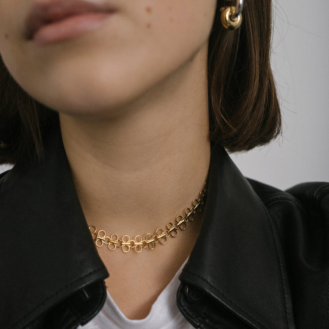 Lolita Choker Necklace, Gold Vermeil - MONARC CONCIERGE
