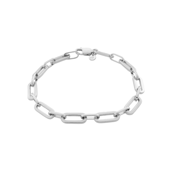 Suitor Chain Bracelet. Sterling Silver