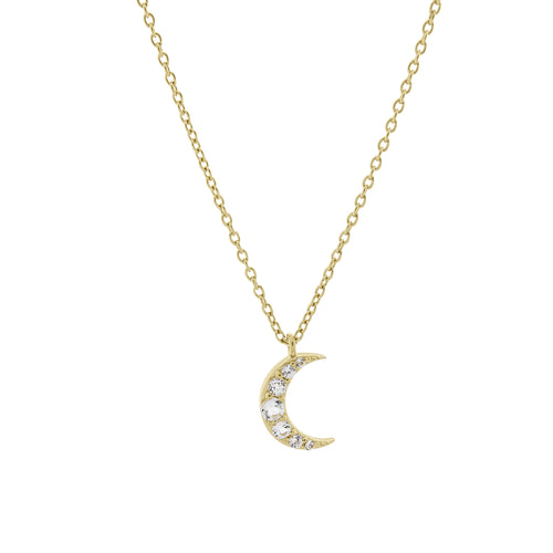 Moonlight Necklace. Gold Vermeil - MONARC CONCIERGE