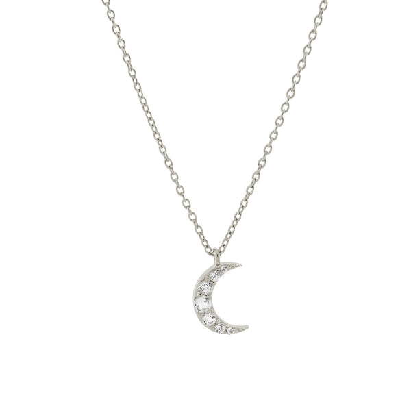 Moonlight Necklace. Sterling Silver - MONARC CONCIERGE