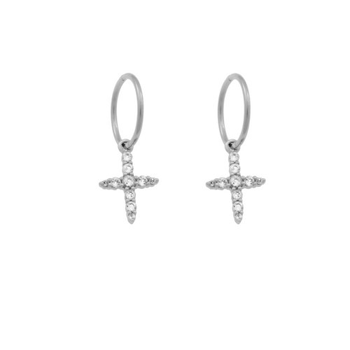 Endless Northern Star Hoops. Sterling Silver - MONARC CONCIERGE