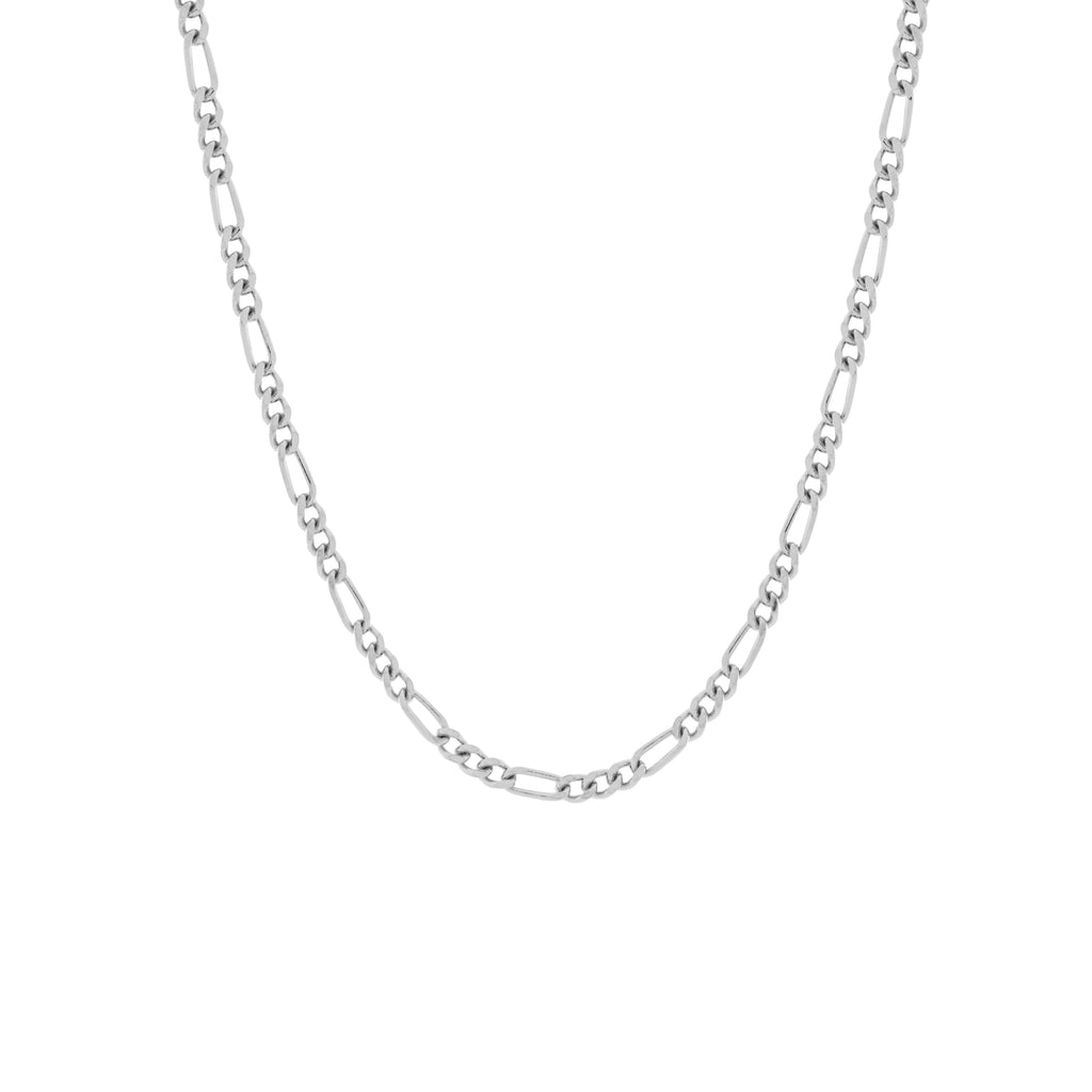 Seville Chain Necklace. Silver - MONARC CONCIERGE