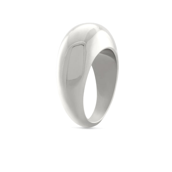 Courbure Ring. Sterling Silver - MONARC CONCIERGE