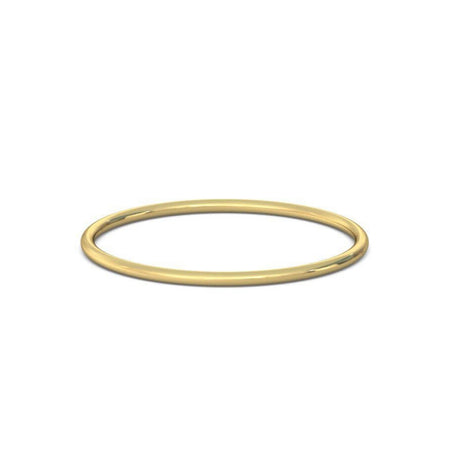 Thea Diamond Solitaire Ring. 18k Yellow Gold