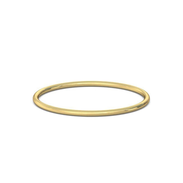 Skinny Mini Ring. 9k Gold - MONARC CONCIERGE