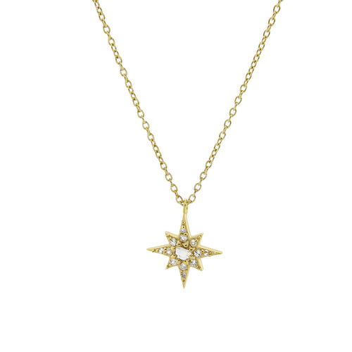 Starburst Necklace. Gold Vermeil - MONARC CONCIERGE
