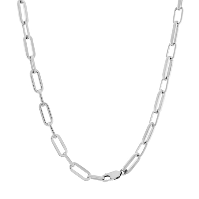 Suitor Chain Necklace. Sterling Silver - MONARC CONCIERGE