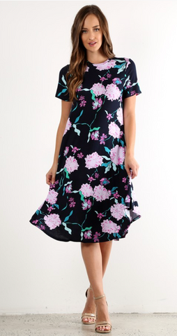 Full of Color Floral Dress