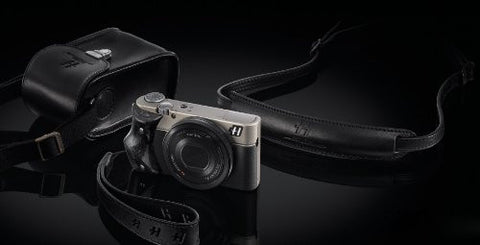 "Hasselblad Stellar ""Special Edition"" Camera - Black with Carbon Fiber Grip, Elegant Traveller Bundle"