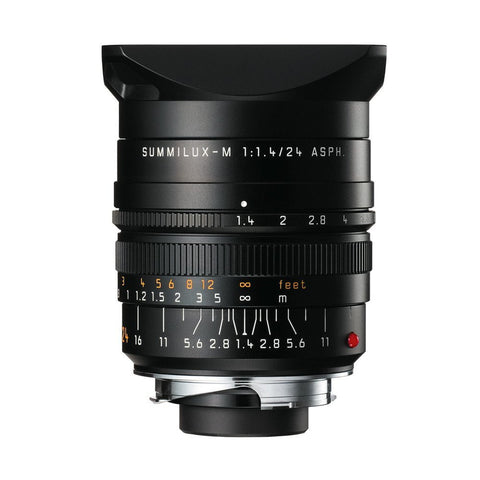 Leica (11 601) 24mm f/1.4 Summilux-M ASPH. Black Anodized Finish