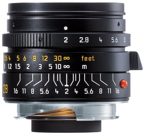 Leica 28mm f/2.0 Aspherical M Manual Focus Lens (11604)
