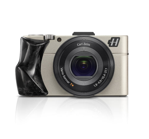 Hasselblad Stellar II Compact Digital Camera with Carbon Fiber Grip and Black Leather Strap