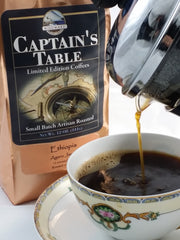 Windward Coffee's Captain's Table label is reserved for the finest coffees we offer