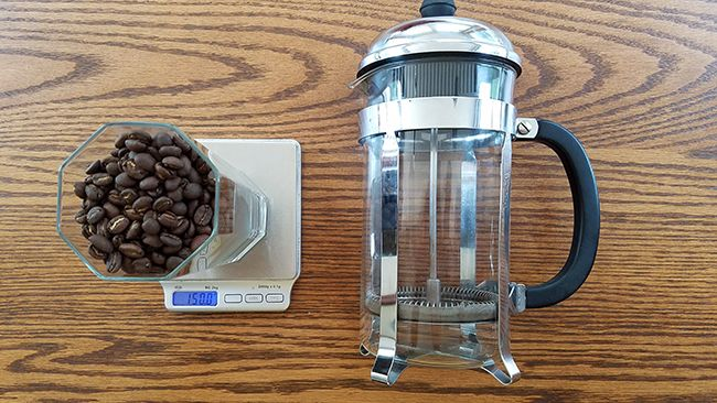 Make cold brew coffee with a French press and Windward Coffee