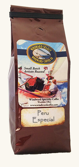 Light up your day with Windward's Peru Especial's silky body and notes of toffee, lemon and almonds. Wonderful!
