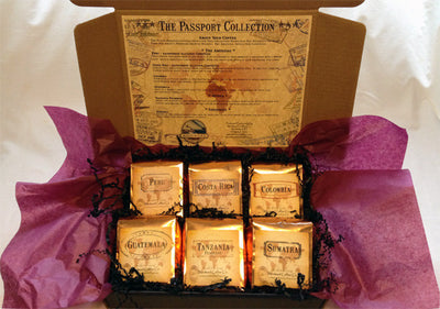 The Passport Collection from Windward Coffee Co.