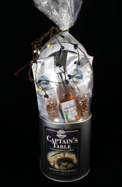 The Captain's Gift Tin from Windward Coffee