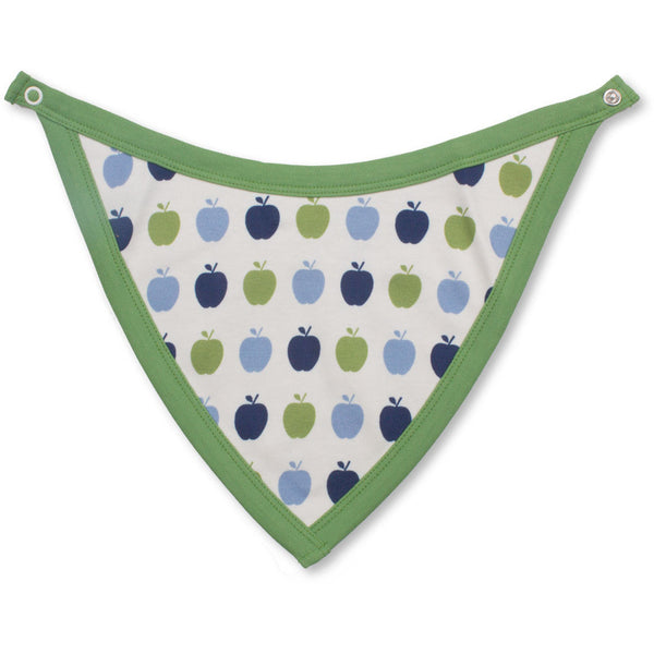 Apple-Bib-Blue-Green-Reversible