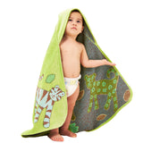 Organic-Hooded-Towel_Newborn-Infant-Toddler-Green
