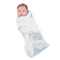 Breganwood-Organics-Swaddle-Bib-Washcloth-Set_Prairie_Grey-Ferret