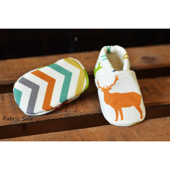 Organic-Buck-Baby-Toddler-Shoes-Fabric-Sole