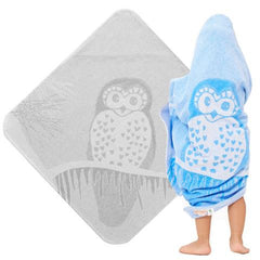 Organic-Cotton-Baby-Toddler-Hooded-Towel-Owl_Blue-Grey