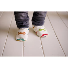 Organic-Mustache-Baby-Toddler-Shoes-Wearing