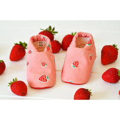 Organic-Pink-Strawberry-Baby-Toddler-Girl-Shoes