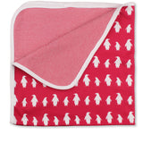 Penguin-Blanket-Red_Front