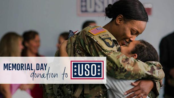 This Memorial Day, we are donating to USO