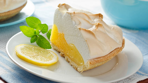 NOW BAKING: LEMON MERINGUE PIE