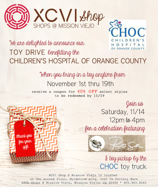 Toy Drive for CHOC