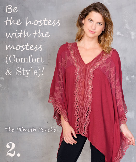 Be the hostess with the mostess (Styly & Comfort)!