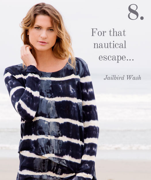 For that nautical escape...