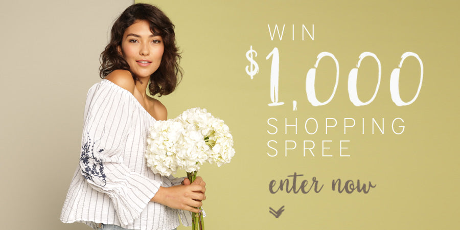 Enter to win $1,000 XCVI Shopping Spree