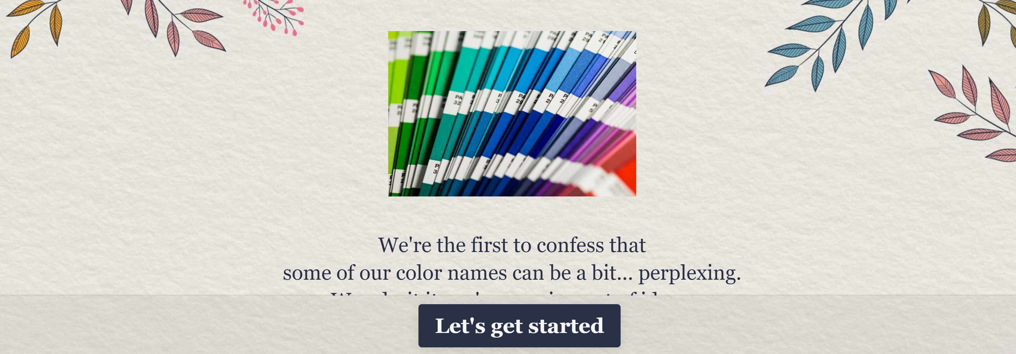 Help us name our colors and win $100 GC