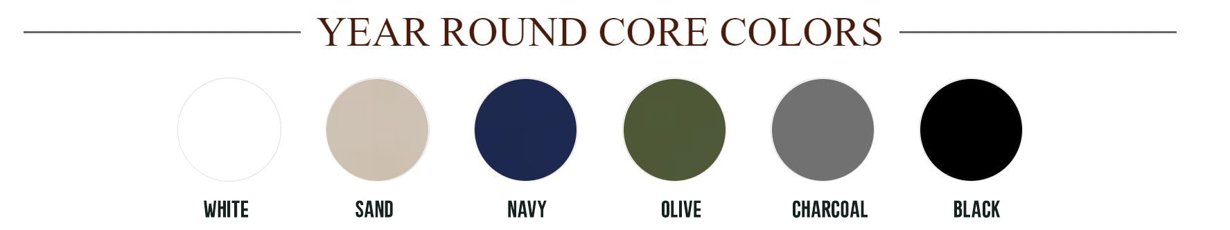 Year-Round Colors