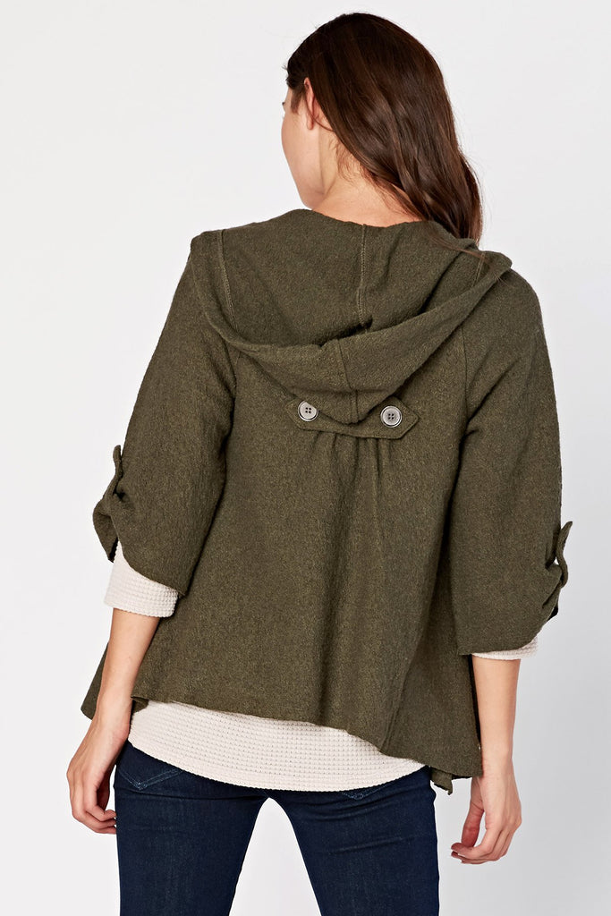 Sweeping Cape Jacket