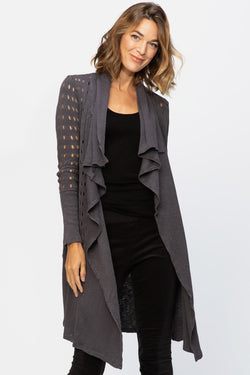 Wearables Abernathy Draped Coat