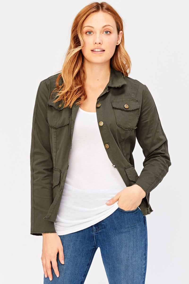 Wearables Raw Edge Safari Jacket