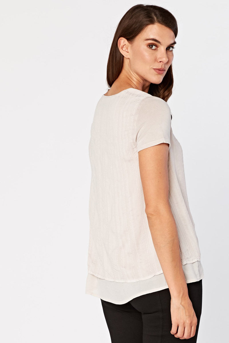 Faux Layer Tee