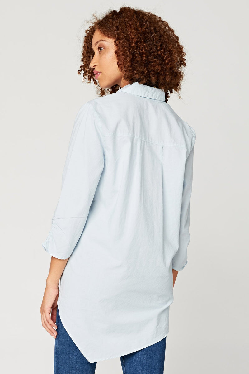 Twist Button-Down Top